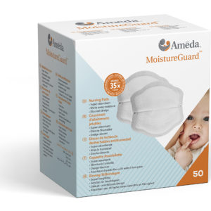 box of Ameda nursing pads