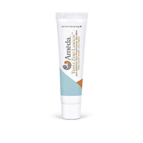 tube of lanolin nipple cream